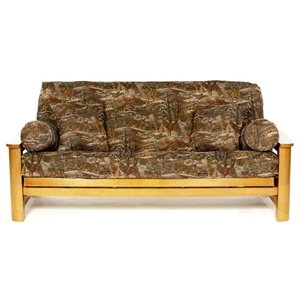 Timber Wolf Futon Cover
