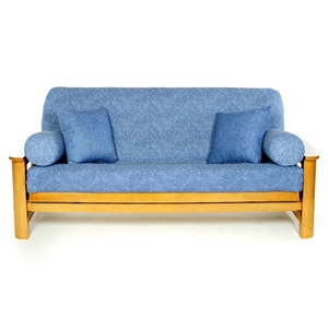 Washed Denim Futon Cover