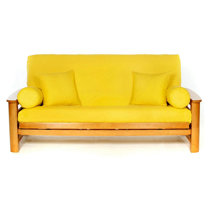 Yellow Futon Cover Full Size Lsc A