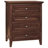 Asti 4 Piece Bedroom Set in Brandy - LSS-ABN-4X-BA-SET