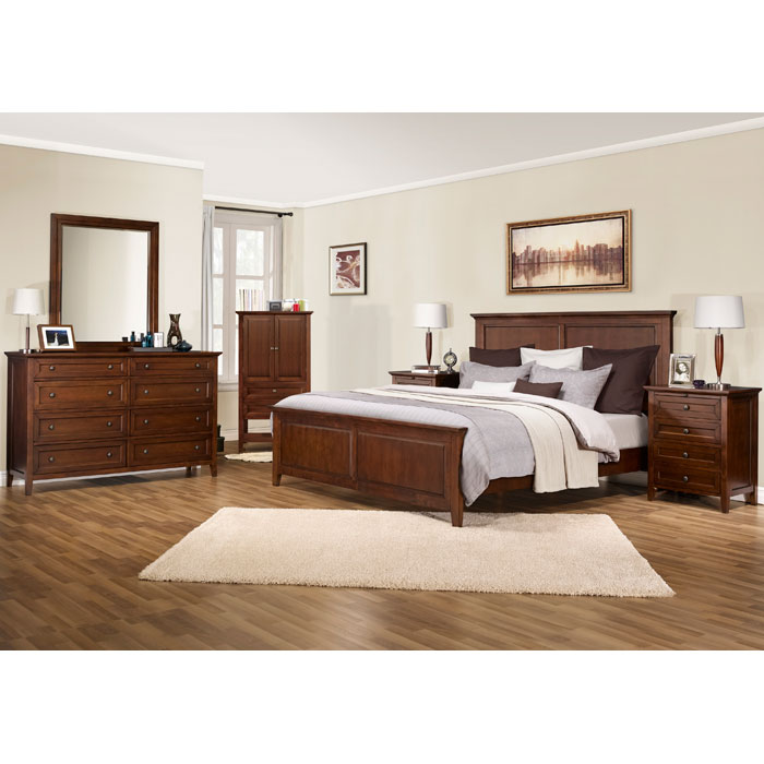 Asti Wall and Dresser Mirror in Brandy - LSS-890PI-MFR-BA