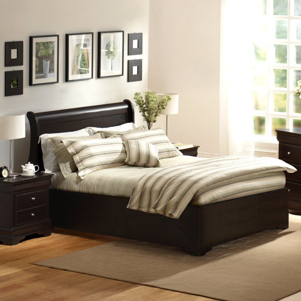 Lifestyle Solutions Bedroom Furniture: Charlotte Bed By Lifestyle Solutions