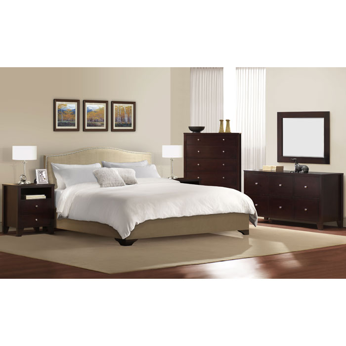 Magnolia 4 Piece Bedroom Set - LSS-MGL-4X-CP-SET