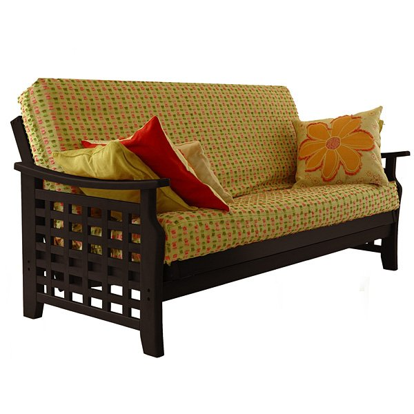 Manila Futon Frame in Java Finish