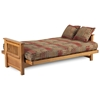 Townsend Complete Oak Futon Set - LSS-FO2-BBR-MO-SET#