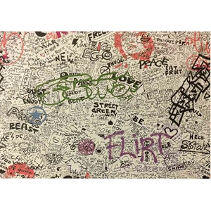 Graffiti Futon Cover