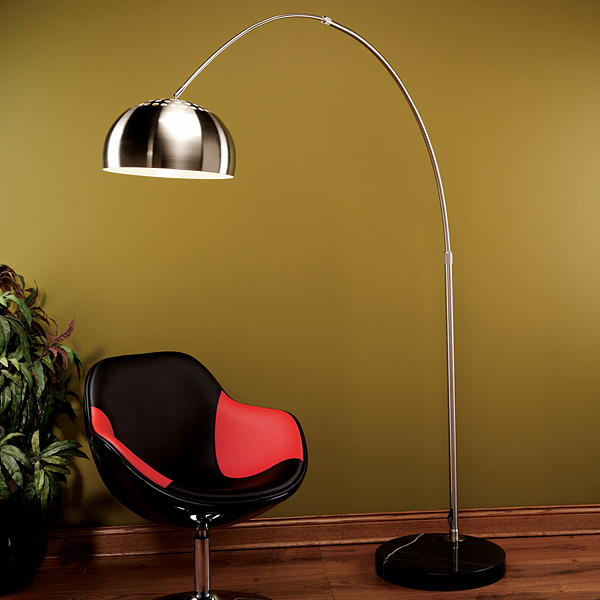 Chrome Arch Floor Lamp Dcg Stores