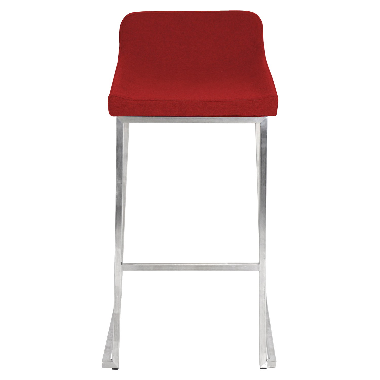 Drop-In Stackable Barstool - Red (Set of 2) - LMS-BS-DROPIN-R2