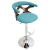 Swell Gardenia Height Adjustable Barstool Swivel Teal Uwap Interior Chair Design Uwaporg