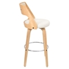 Cecina Swivel Barstool - Cream, Natural - LMS-BS-JY-CCN-NA-CR