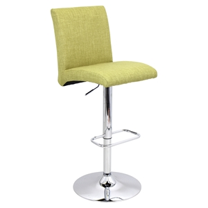 Tintori Height Adjustable Barstool - Swivel, Green