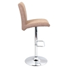 Tintori Height Adjustable Barstool - Swivel, Medium Brown - LMS-BS-JY-TNT-MBN