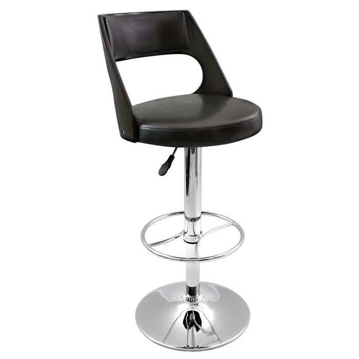 Presta Adjustable Height Swivel Bar Stool - Curved Back - LMS-BS-JY-PRS-X