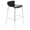 Woodstacker Stackable Barstool - Black (Set of 2) - LMS-BS-STAKWD-BK2