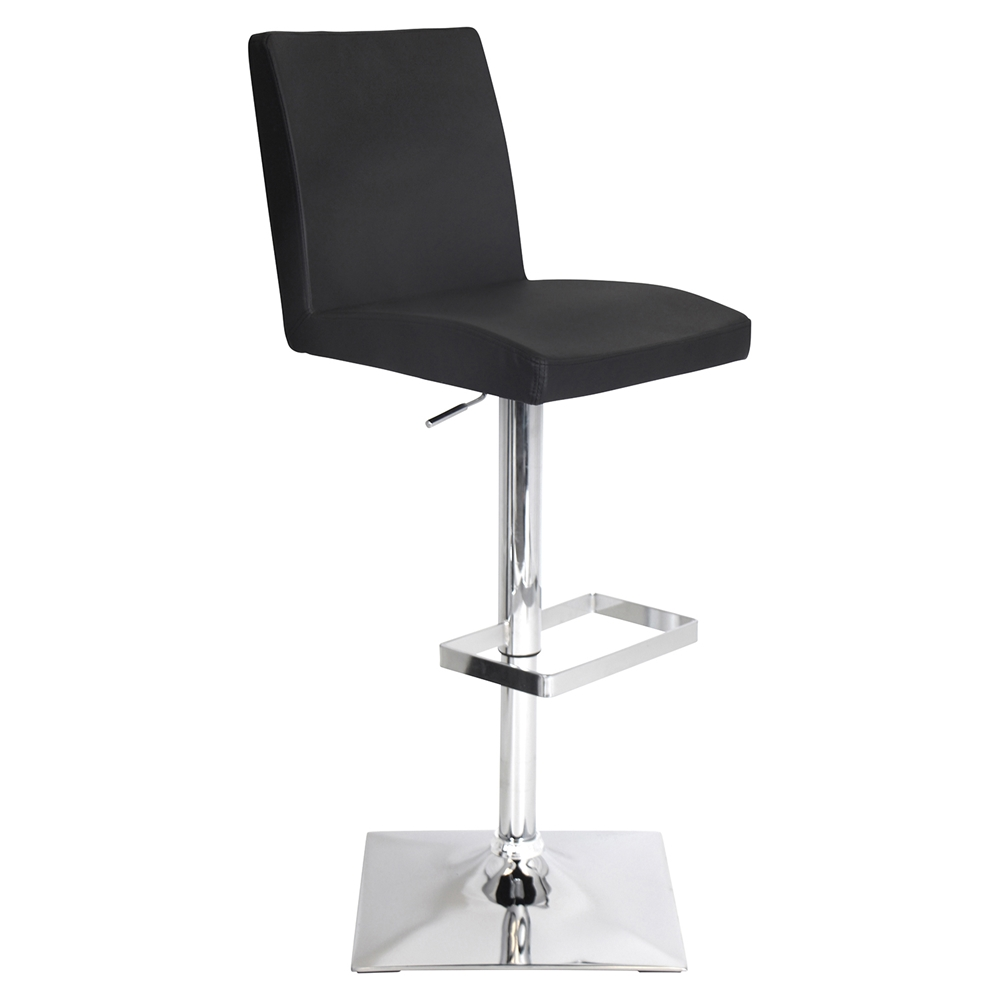 Captain Height Adjustable Barstool Swivel Black Dcg Stores