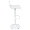 Emery Height Adjustable Barstool - Swivel, Matte White - LMS-BS-TW-EMRY-W