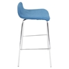 Fabric Stacker Stackable Barstool - Blue (Set of 3) - LMS-BS-TW-FSTK-TL3