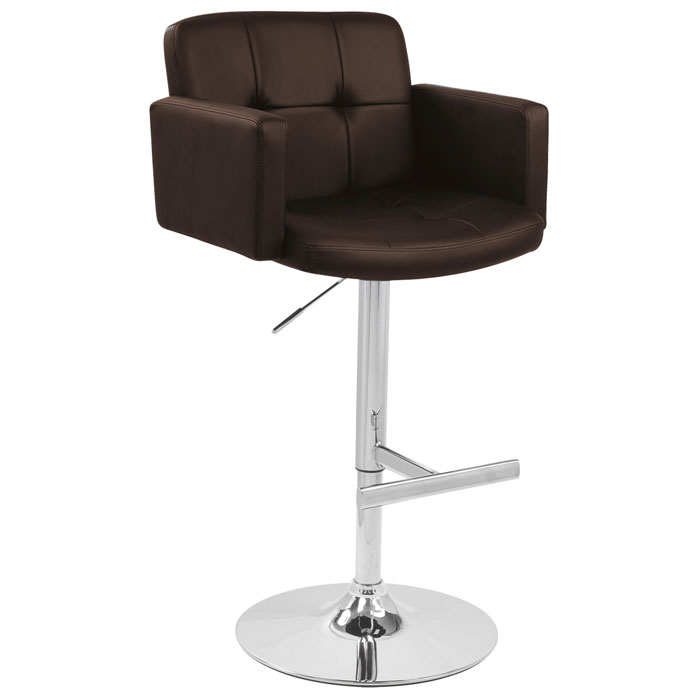 Stout Adjustable Swivel Bar Stool Tufted Dcg Stores