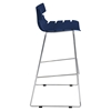 Bonefish Stackable Barstool - Dark Blue (Set of 2) - LMS-BS-ZS-BFISH-DB2