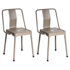 Energy Chair - Cappuccino (Set of 2)