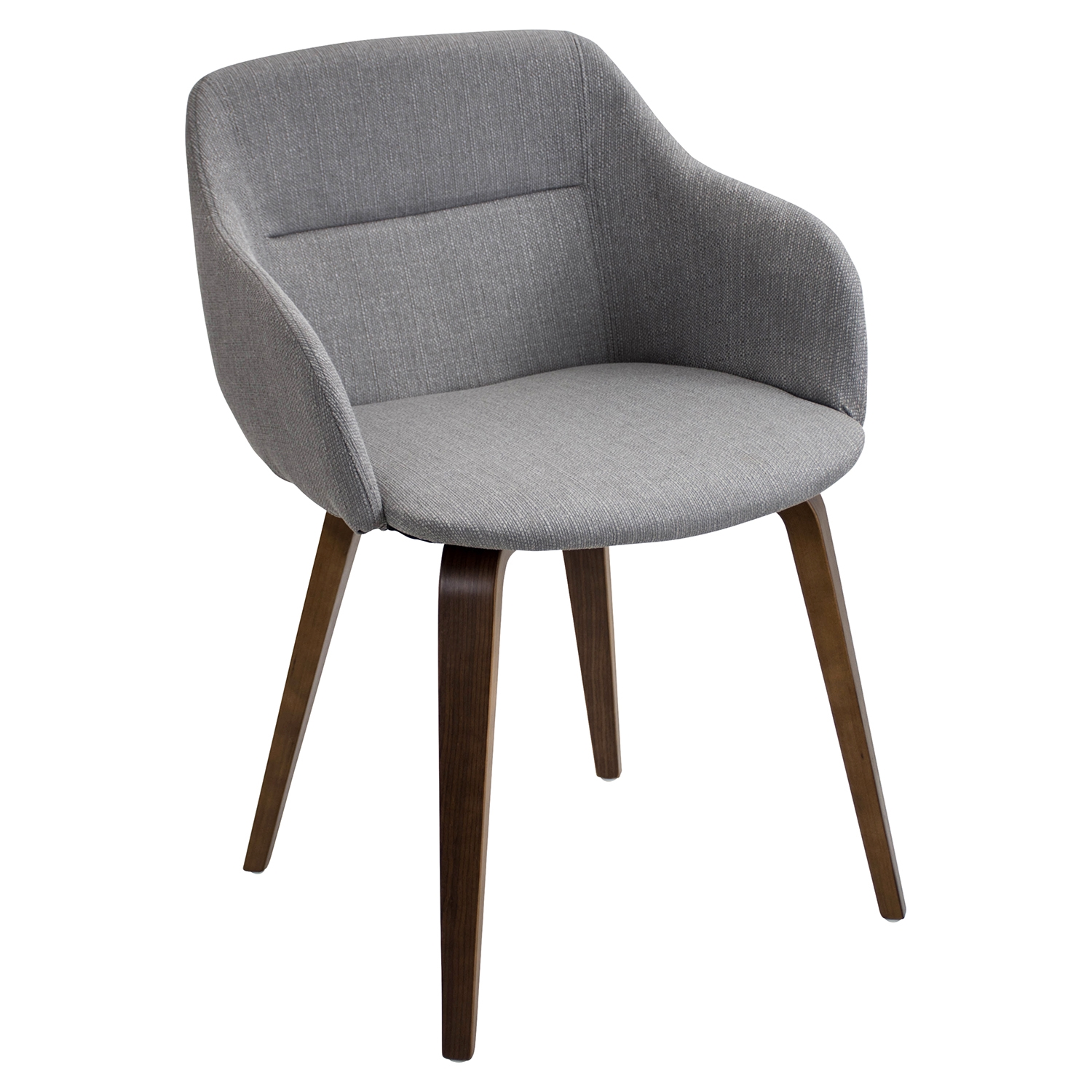 Campania Dining Chair - Gray - LMS-CH-CMP-WL-GY