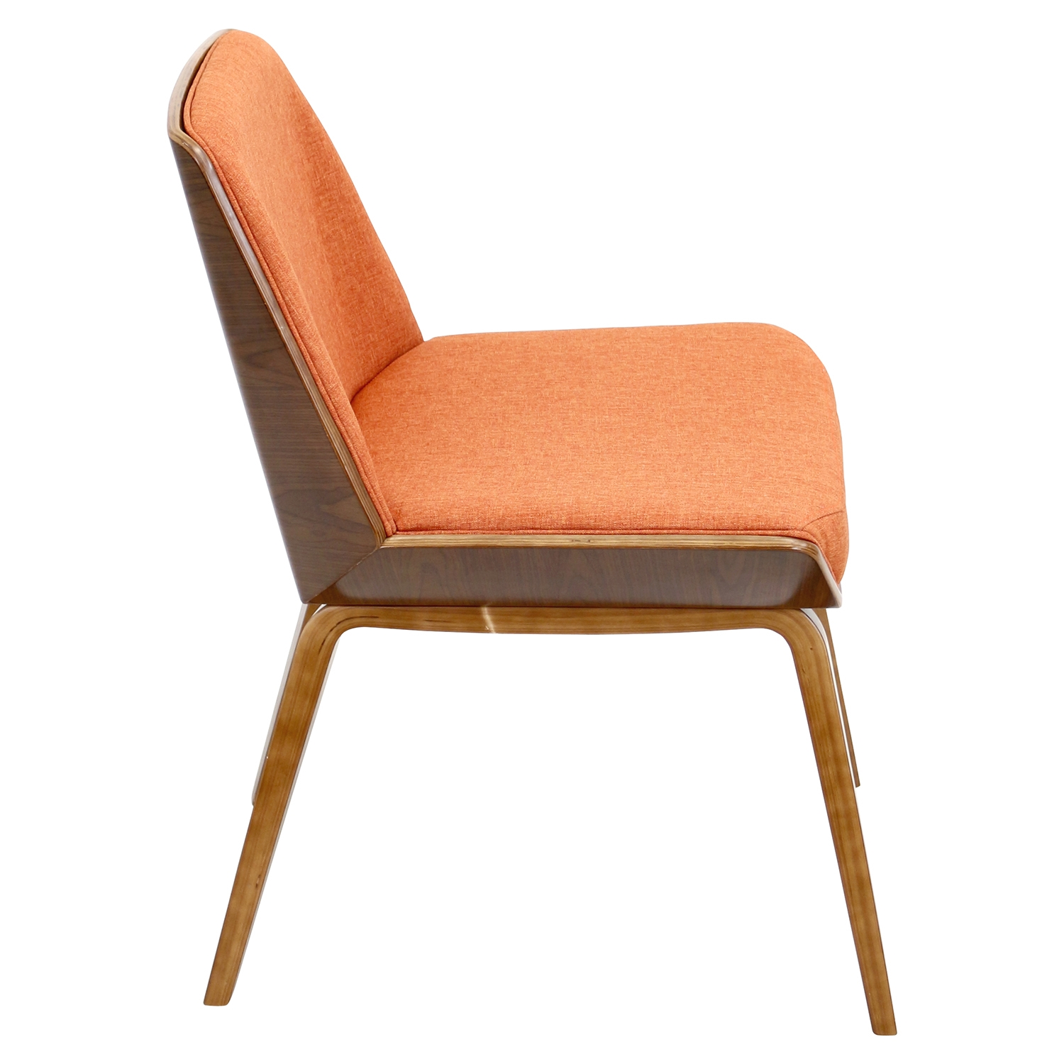 Corazza Dining Chair - Orange - LMS-CH-CRZZ-WL-O