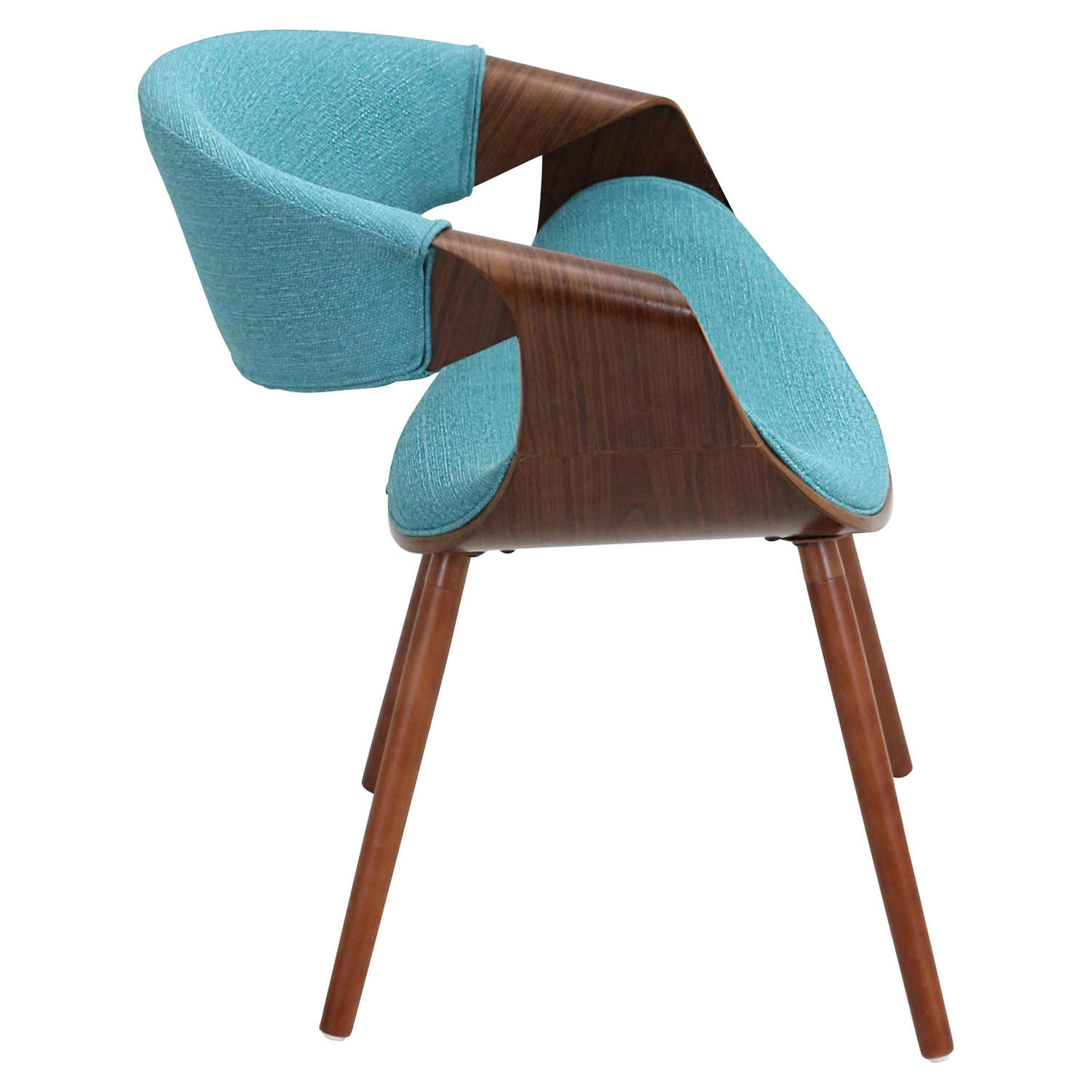 Curvo Dining Chair Teal Dcg Stores