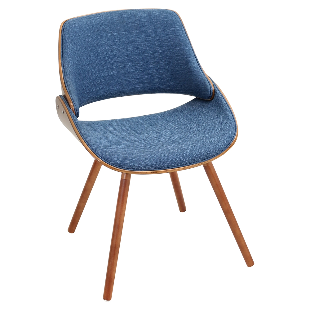 Fabrizzi Dining Chair Denim Blue Dcg Stores