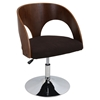 Ava Height Adjustable Chair - Swivel, Brown - LMS-CH-JY-AVA-WL-BN