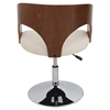 Ava Height Adjustable Chair - Swivel, Cream - LMS-CH-JY-AVA-WL-CR