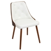 Gianna Dining Chair - White, Button Tufted - LMS-CH-JY-GNN-WL-W