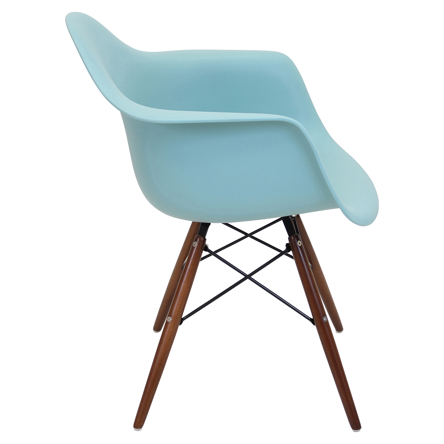 Neo Flair Chair - Sea Green, Espresso (Set of 2) - LMS-CH-NFLPP-GN-E2