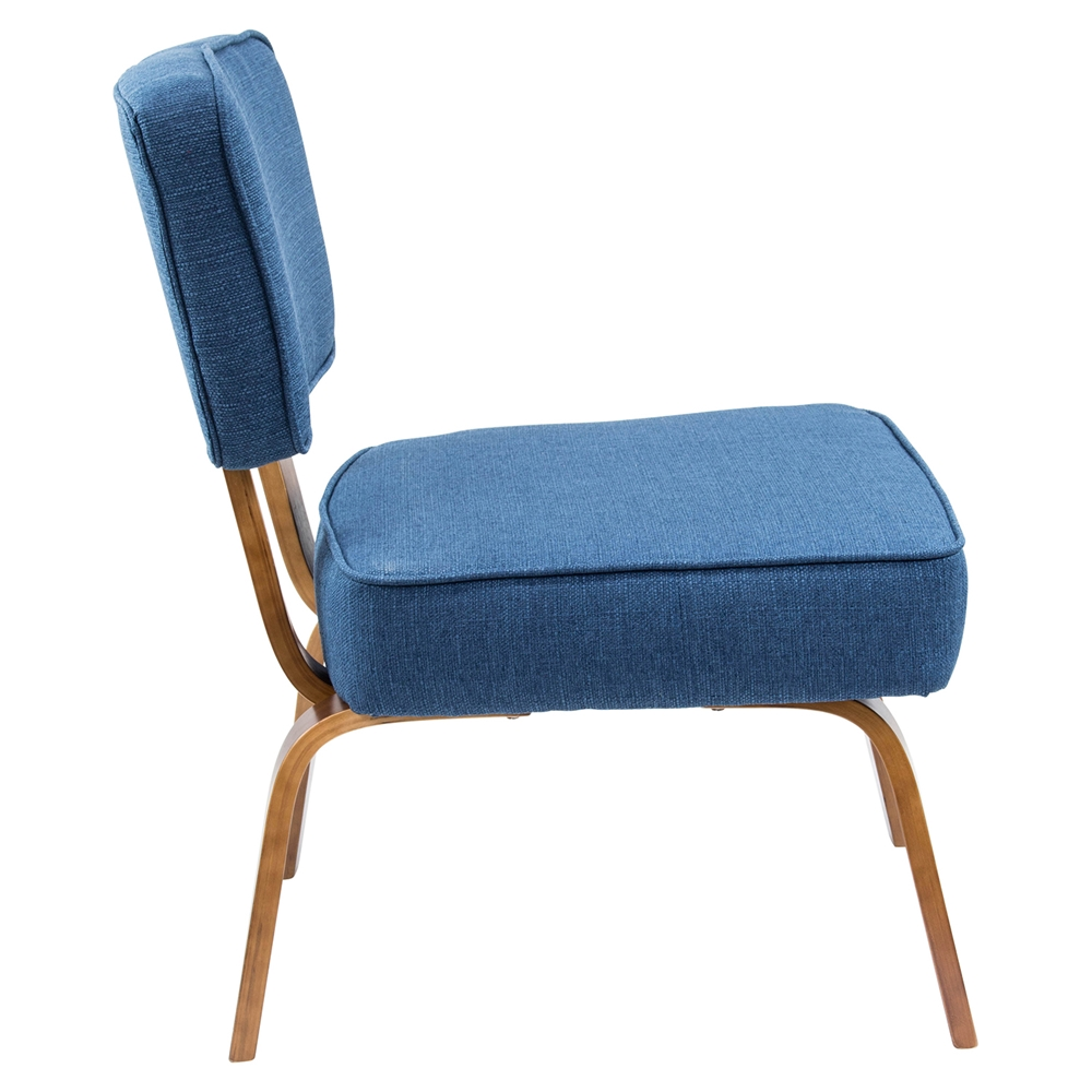 navy blue accent chair