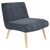 Vintage Neo Upholstery Accent Chair - Blue - LMS-CHR-AH-VNEO-DBU