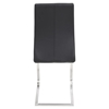 Dynasty Dining Chair - Black (Set of 2) - LMS-DC-DNSTY-BK2