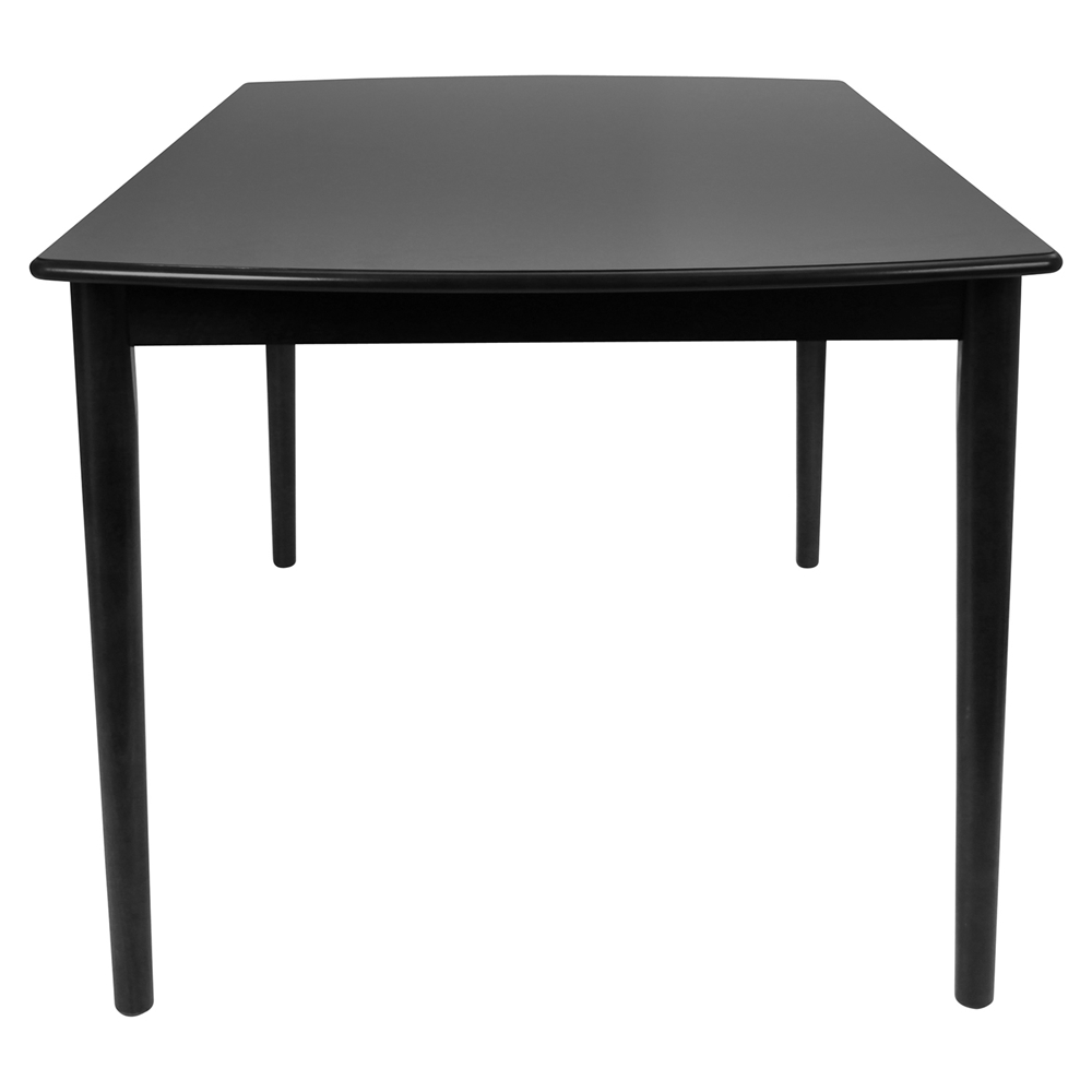 Tintori Rectangular Dining Table Black LMS DT TIN6036 BK