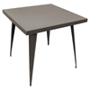 Austin Square Dining Table - Antique - LMS-DT-TW-AU3232-AN