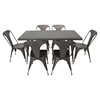 Austin Rectangular Dining Table - Antique - LMS-DT-TW-AU6032-AN