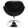 Saddlebrook Leatherette Modern Lounge Chair - LMS-CHR-SDLBRK