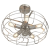 Ozzy Ceiling Fan - Satin Nickel - LMS-LS-L-OSCCLG-NI