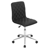 Caviar Height Adjustable Office Chair - Swivel, Black - LMS-OC-TW-CAV-BK