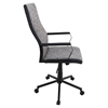 Congress Height Adjustable Office Chair - Swivel, Black - LMS-OFC-AC-CN-BK-T