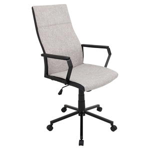 Congress Height Adjustable Office Chair - Swivel, Tan