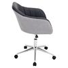 Shelton Office Chair - Gray, Black - LMS-OFC-AC-SHL-GYBK
