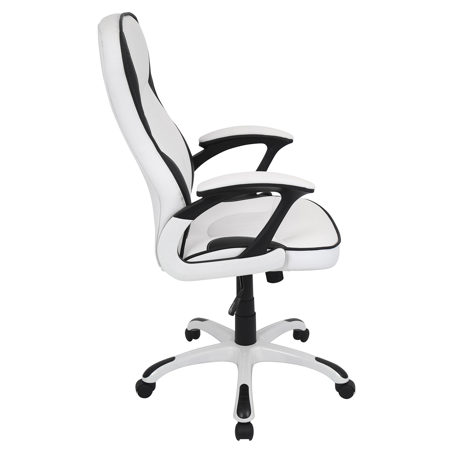 Storm Height Adjustable Office Chair - Swivel, White - LMS-OFC-AC-STORM-W