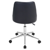 Marche Height Adjustable Office Chair - Swivel, Black - LMS-OFC-MARCHE-BK