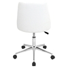 Marche Height Adjustable Office Chair - Swivel, White - LMS-OFC-MARCHE-W
