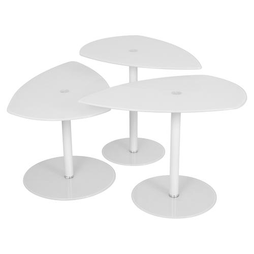 White Nesting Table For Retail Store ~ Pix nesting tables white dcg stores