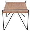 Loft Rectangular Coffee Table - Walnut - LMS-TBC-LOFT-WL-BK