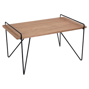 Loft Rectangular Coffee Table - Walnut